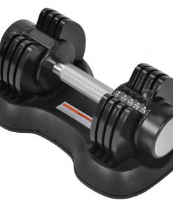 Adjustable Dumbbell 25 LBS With Fast Automatic Adjustable And Weight Plate