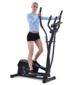Upright Exercise Bike With 8-Level Magnetic Resistance