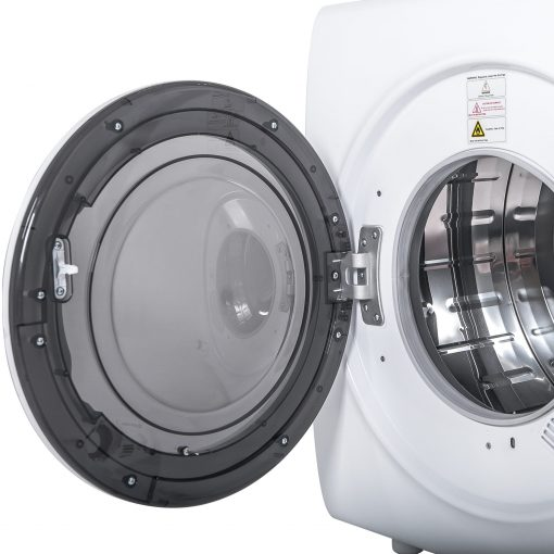9 Lbs Capacity Compact Tumble Dryer With 1400w Drying Power