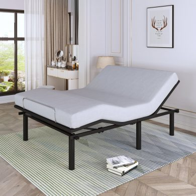 Adjustable Bed Base With Wireless Remote Control, Full Size