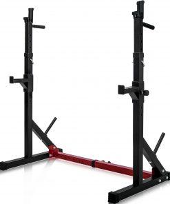 Adjustable Barbell Rack Max Load 550lbs
