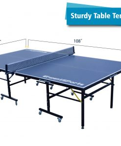 Indoor & Outdoor Ping Pong Tables, can be moved and folded
