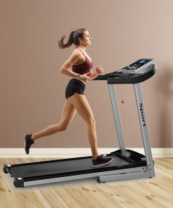 Folding Electric Treadmill with Manual Incline