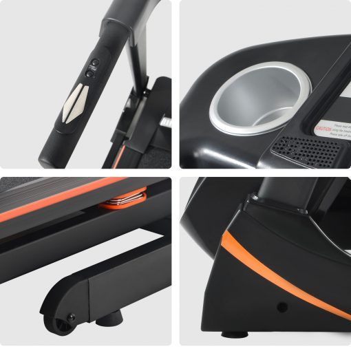 3.5HP Folding Electric Treadmill With Incline