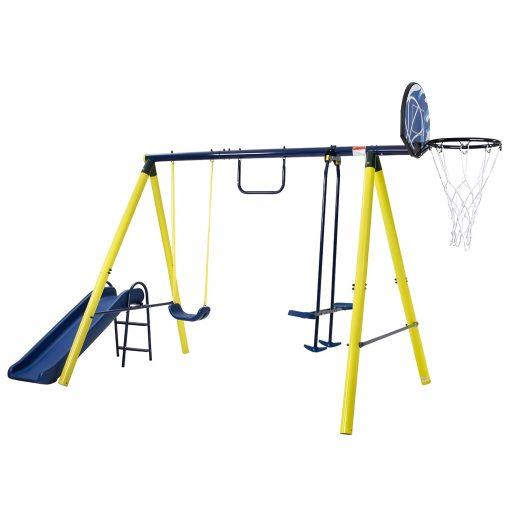 5 in 1 Outdoor Toddler Swing Set