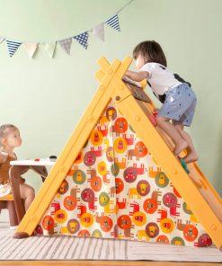 Kids 4 In 1 Triangular Play Tent