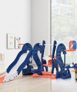 Toddler Slide and Swing Set 6 in 1