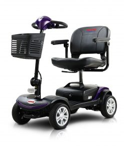 Metro Mobility USA Four Wheels Compact Travel Mobility Scooter