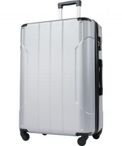 24'' Lightweight Hardshell Luggage Sets 3 Pcs With TSA Lock