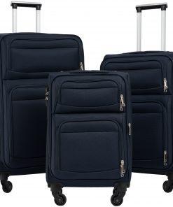 Softside Luggage Expandable 3 Piece Set