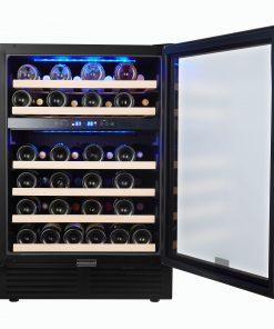 SOTOLA 24 Inch 46 Bottle Wine Cooler Cabinet