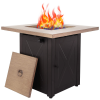 28inch Outdoor Gas Fire Pit Table